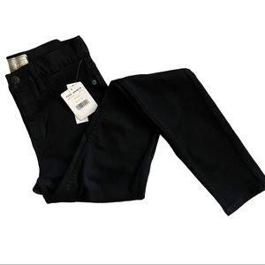 NWT Free People Black Skinny Jeans Size 26